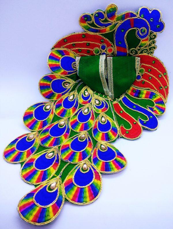 Laddu gopal peacock dress