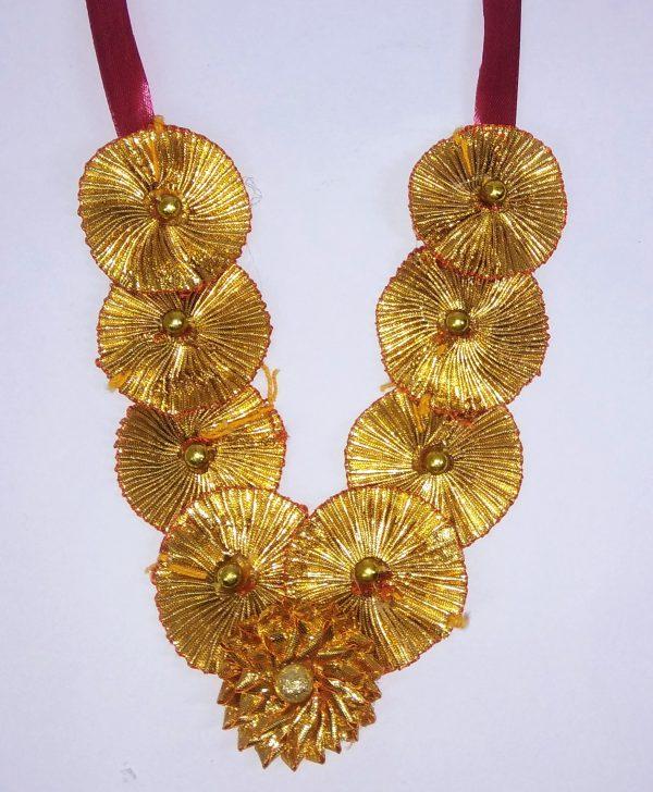 Handmade headgear & Mala