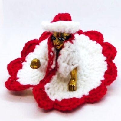 Laddu gopal christmas special dress